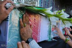 تشییع پیکر شهید مدافع حرم شهید مهدی ایمانی در قم