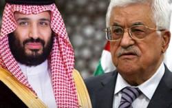 محمود عباس و محمد بن سلمان