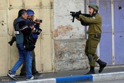 سرکوب خشونت بار مبارزان فلسطینی