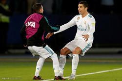 دیدار تیم های فوتبال رئال مادرید و گرمیو