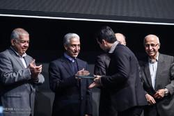 مراسم تكريم الباحثين الايرانيين بحضور جهانغيري