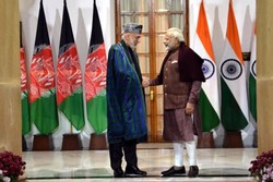 «حامد کرزای» با نخست وزیر هند دیدار کرد