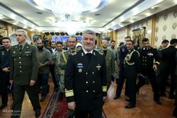 İran'daki yabancı askeri ataşeler bir araya geldi