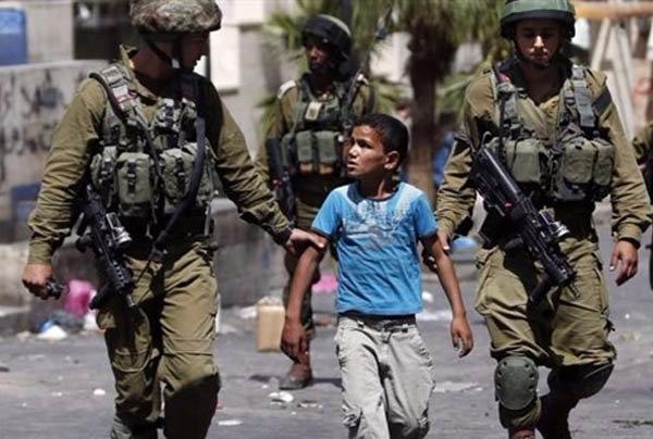 بازداشت کودک فلسطینی