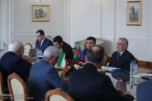 FM Zarif receives Nakhchivan's Talibov
