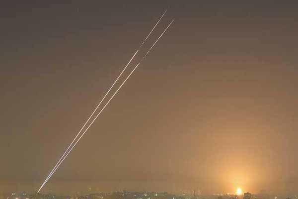 به صدا درآمدن آژیر حمله موشکی در فلسطین اشغالی