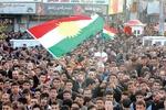 تظاهرات گسترده علیه حکومت اقلیم کردستان در «سلیمانیه» عراق