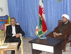 محمد حسینی دیدار با امام جمعه