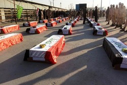 پیکر ۴۶ سرباز عراقی به مسئولان این کشور تحویل داده شد
