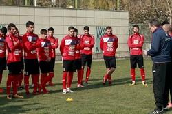 بازیکنان پرسپولیس در حضور سرپرست باشگاه تمرین کردند