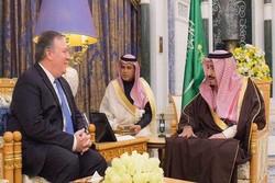 پمپئو با پادشاه عربستان در ریاض دیدار کرد