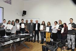 فارسیآموزان بلگراد دیپلم و گواهینامه دریافت کردند