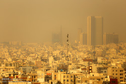 Unhealthy air permeating Tehran for 6th consecutive day