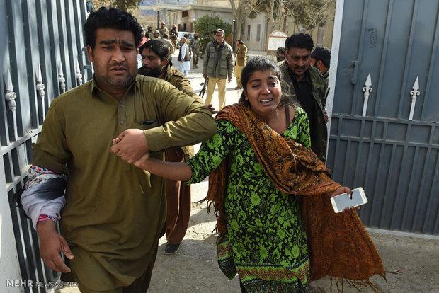 مشاهد من الهجوم الارهابي على كنيسة في باكستان
