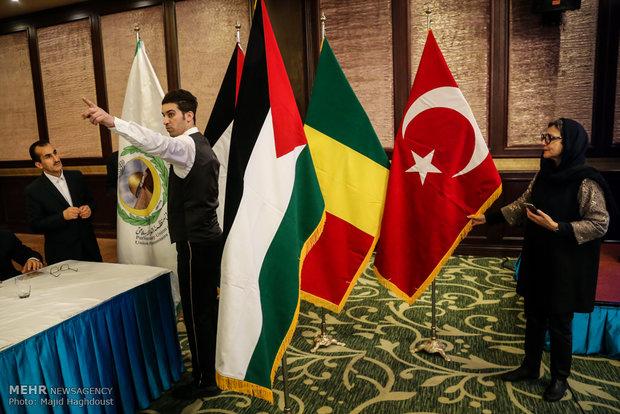 انطلاق  الاجتماع الطارئ للجنة فلسطين  للمجالس الاسلامية