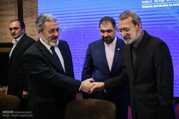 الاجتماع الطارىء للجنة فلسطين في طهران