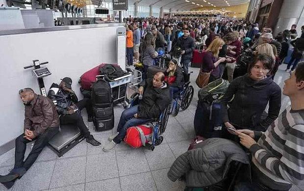 آلاف المسافرين عالقون في مطار أتلانتا الأمريكي