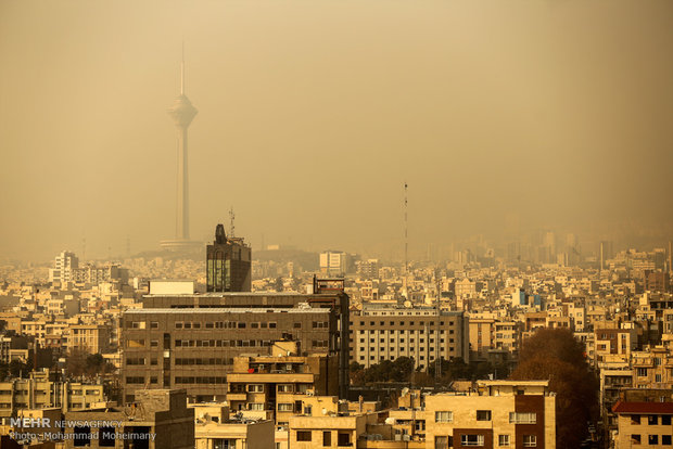 Air pollution shuts schools, cancels sports events in Iran's big cities