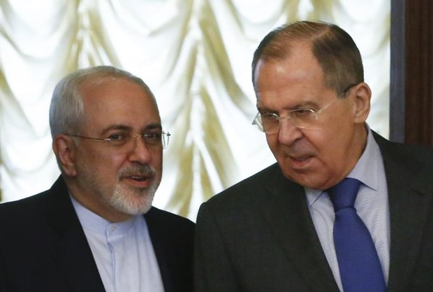 Iran's FM Zarif meets Russian counterpart in Moscow