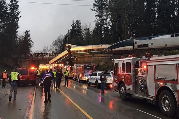حادثه قطار در آمریکا