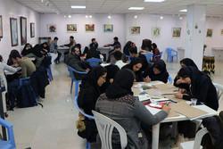 اجرای زنده کاریکاتور با موضوع«کودک و رسانه» در قزوین برگزار شد