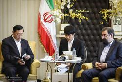 دیدار هیات عالی رتبه چینی با محسن رضایی دبیر مجمع تشخیص مصلحت نظام