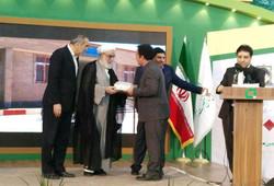 تقدیر از مدیرکل نوسازی مدارس کرمانشاه