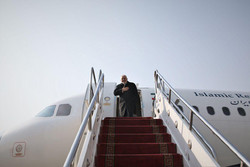 Foreign Minister Zarif leaves Tehran for Baku