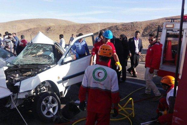 هر ۱۲۰ دقیقه ۵ ایرانی در تصادفات می میرند