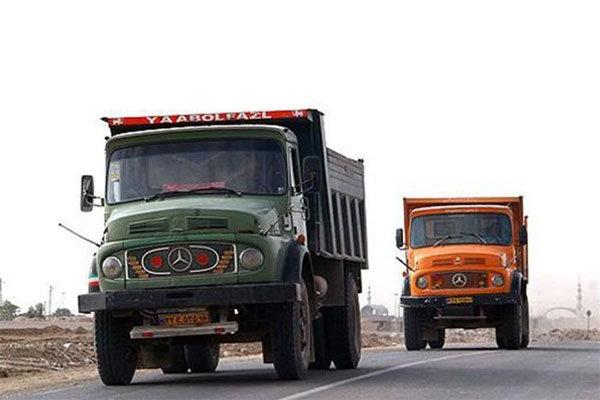 بارنامه به کامیون های فرسوده اختصاص نمی یابد
