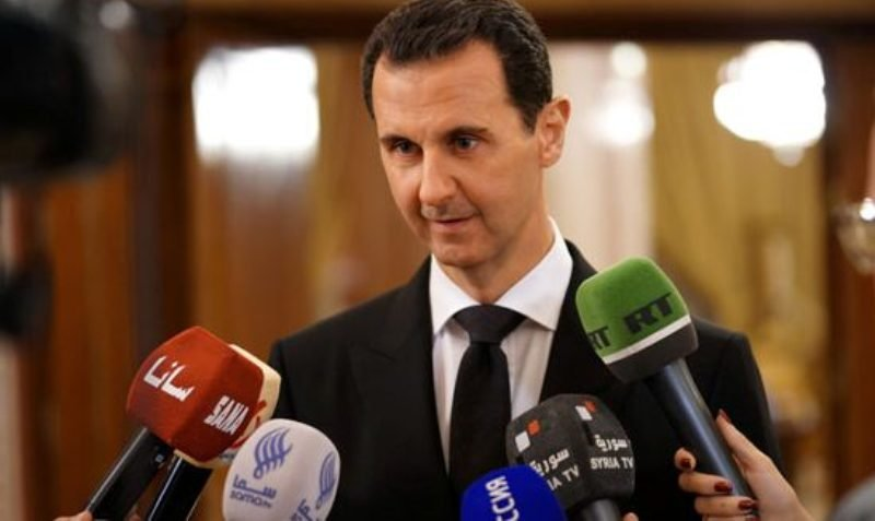 Syria's Assad Meets Russian Official, Calls US-Backed Militias 'Traitors'