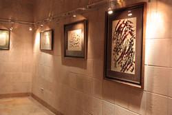 نمایشگاه خوشنویسی «دوبیتیهای باباطاهر» در همدان دایر شد