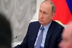 بوتين يعزي روحاني بضحايا سقوط الطائرة الايرانية