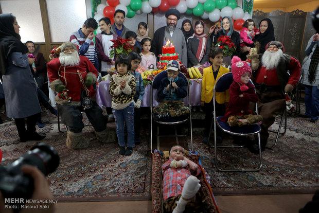 جشن یلدای بچه های پروانه ای