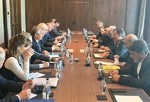 Jaberi Ansari, Lavrentiev talk Syria in Sochi