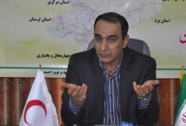 جاری شدن سیل در شرق اصفهان/سیلاب به تالاب گاوخونی هدایت شد