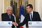 رایزنی تلفنی «ماکرون» و «عباس» درباره مسأله فلسطین