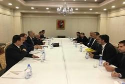 Cabiri Ensari Astana'da Beşar Caferi ile görüştü