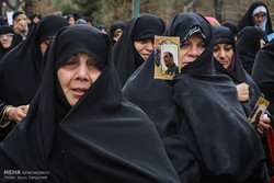 "مراسم تشييع جثمان الشهيد ""علي خوش لفظ"""