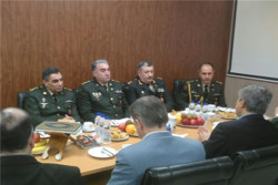 Azerbaijani medical-military delegation visits Baqiyatallah Univ.
