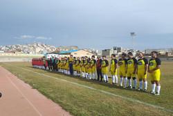دیدار تیم های رسانه ورزش کردستان و پیشکسوتان سرپل ذهاب مساوی شد