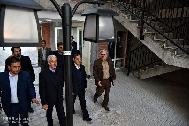 افتتاح چند پروژه دانشگاه فردوسی توسط وزیر علوم