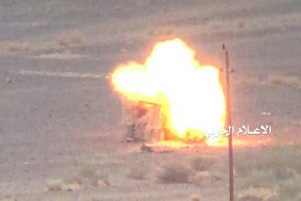 طيران التحالف السعودي يدمر محطة تحلية مياه باليمن