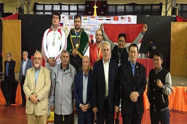 İran'dan Asya Pehlivan Güreşi'nde bir şampiyonluk daha