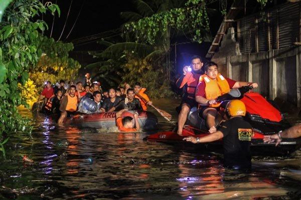 ڕۆچوونی زهوین له فیلیپین ۹۰ کوژراوی لێکهوتهوه