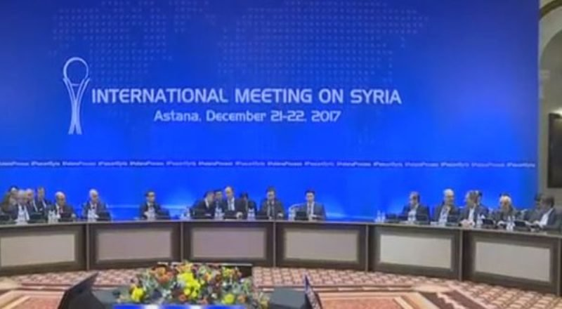 Turkey, Russia, Iran Agree to Activate Syria Political Process After Astana Meeting