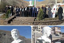 سردیس شهید حججی