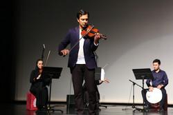 ویولنیستها برای استاد صبا نواختند/ رهبری فرهاد فخرالدینی