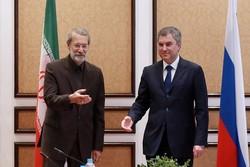 لاريجاني: مزاعم الأميركيين حول المساعدات الصاروخية الإيرانية لليمن كذبة كبيرة