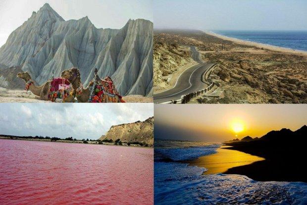 """الرياح الموسمية في """"جابهار"""" تجذب السياح نحو جنوب شرق ايران"""
